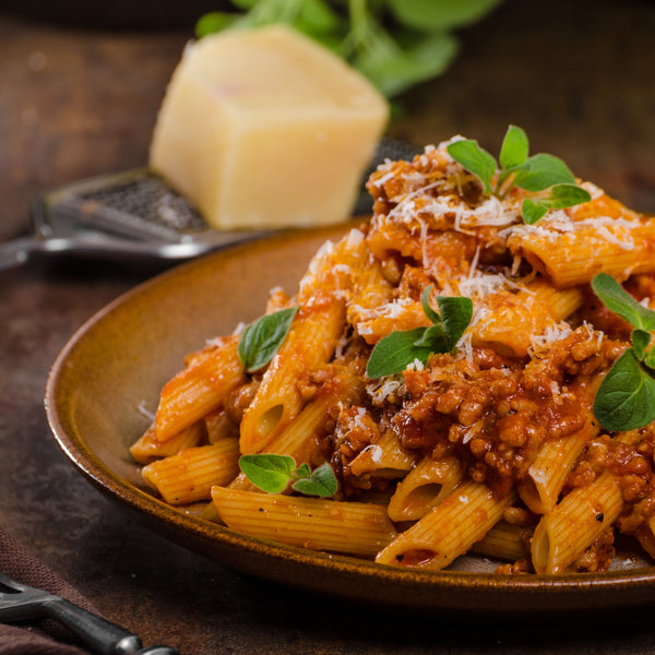SPAGHETTI BOLOGNESE WITH WHOLEMEAL PASTA