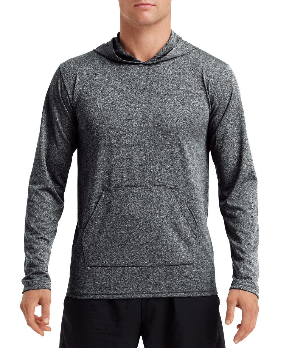 CraftWork Performance Long Sleeve Hoodie (Grey)