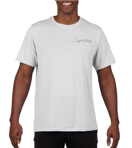 CraftWork Short-Sleeve T-Shirt (White)