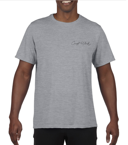 CraftWork Short-Sleeve T-Shirt (Grey)