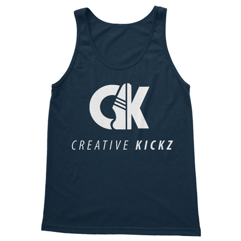 alloverprint.it Apparel S / Navy Creative Kickz Clean Softstyle Tank Top