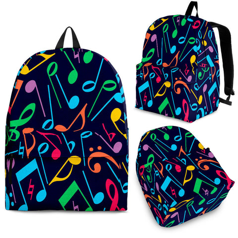 Creative Kickz Colorful Notes Backpack