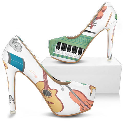 Creative Kickz Shoes Instruments Heels
