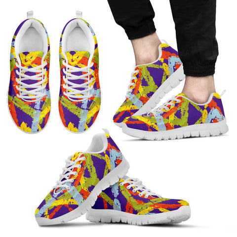 Creative Kickz Shoes Men's Sneakers / US5 (EU38) Blocks Sneakers