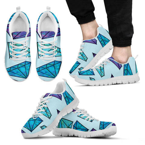 Creative Kickz Shoes Men's Sneakers / US5 (EU38) Diamonds Sneakers