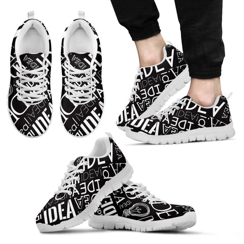 Creative Kickz Shoes Men's Sneakers / US5 (EU38) Full of Ideas Sneakers