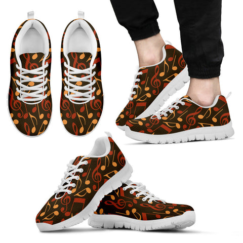Creative Kickz Shoes Men's Sneakers / US5 (EU38) Notes for the Sole Sneakers