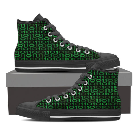 Creative Kickz Shoes Mens High Top / US8 (EU40) Binary High Top