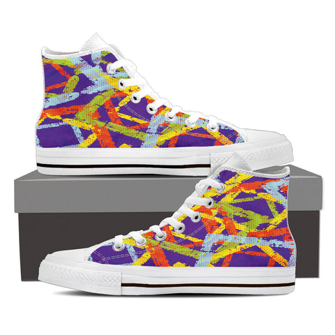 Creative Kickz Shoes Mens High Top / US8 (EU40) Blocks High Top