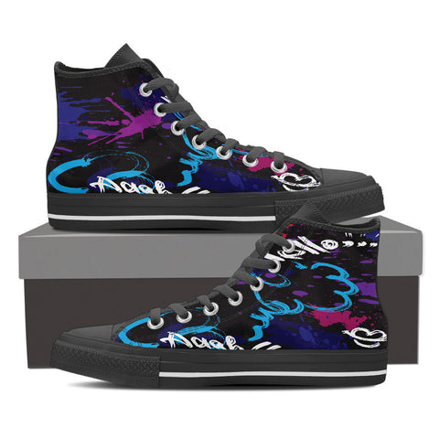 Creative Kickz Shoes Mens High Top / US8 (EU40) Dash n Splash High Top