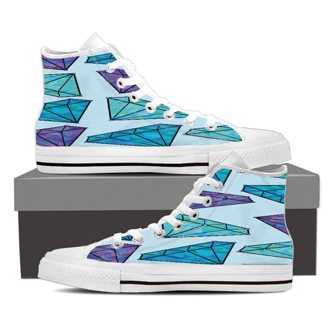 Creative Kickz Shoes Mens High Top / US8 (EU40) Diamonds High Top