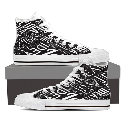 Creative Kickz Shoes Mens High Top / US8 (EU40) Full of Ideas High Top