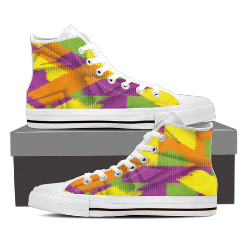Creative Kickz Shoes Mens High Top / US8 (EU40) Grunge High Top