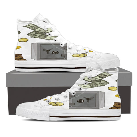 Creative Kickz Shoes Mens High Top / US8 (EU40) Personal Finance High Top