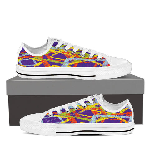 Creative Kickz Shoes Mens Low Top / US8 (EU40) Blocks Low Top