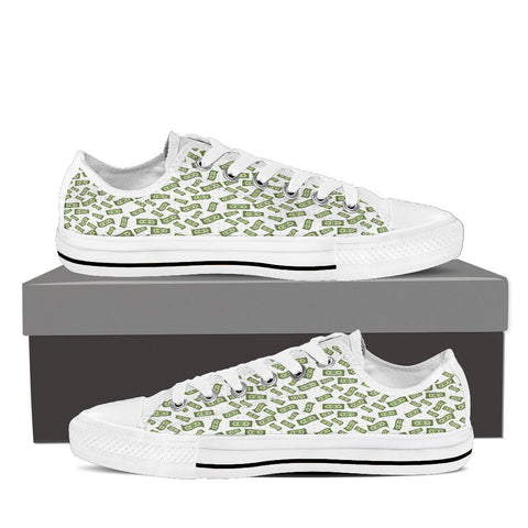 Creative Kickz Shoes Mens Low Top / US8 (EU40) Dollar Bills Low Top