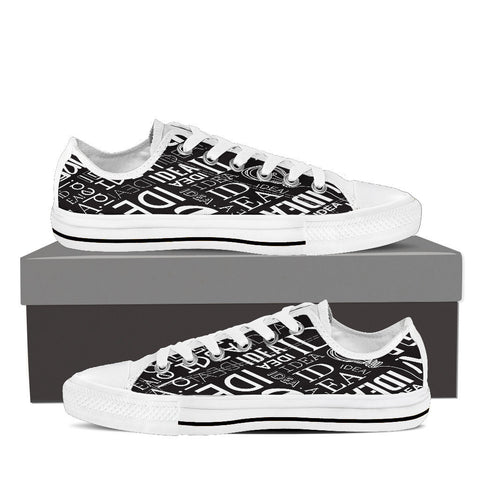 Creative Kickz Shoes Mens Low Top / US8 (EU40) Full of Ideas Low Top