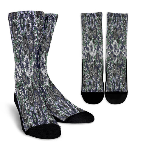 Creative Kickz Socks Floral Abstracts