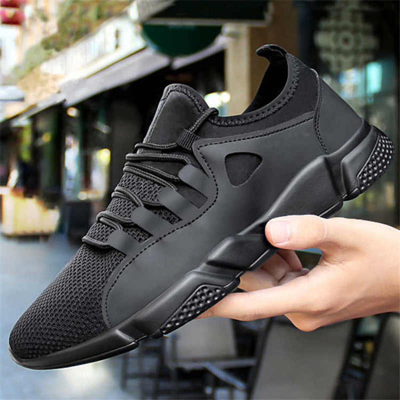 60d800a7aedf Shoe man Sneakers Breath Jogging for men sports running Shoes Fly Weav