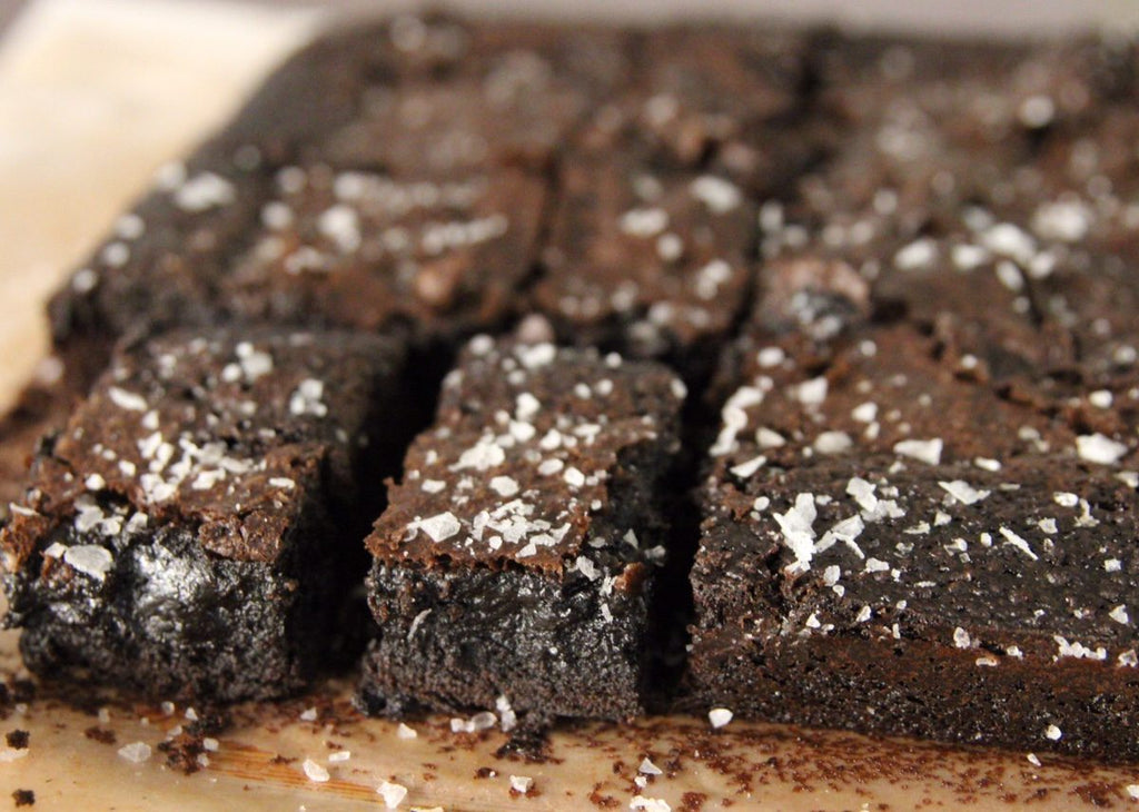 The Best Salted Brownie Recipe Ever