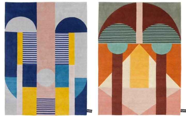 CC Tapis, Maison&Objet, Italian carpet, art deco , Gingerfinch