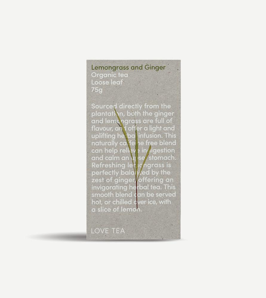 loose leaf tea, loose leaf tea australia, lemongrass loose leaf tea, lemongrass and ginger tea