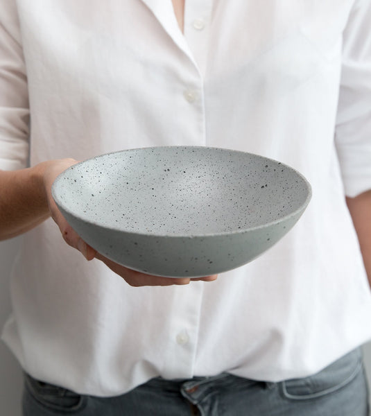 concrete bowl, unique home decor, concrete decor, fruit bowl, Gravelli Australia, Czech design