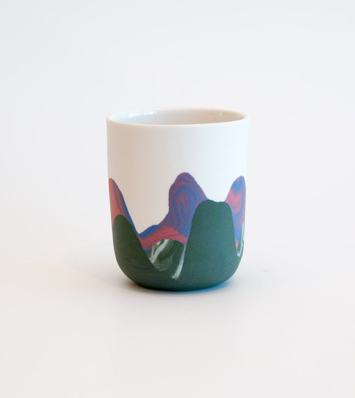 latte cup, coffee mug, RL Foote ceramics, Melbourne made ceramics, ceramic coffee cup, unique cup