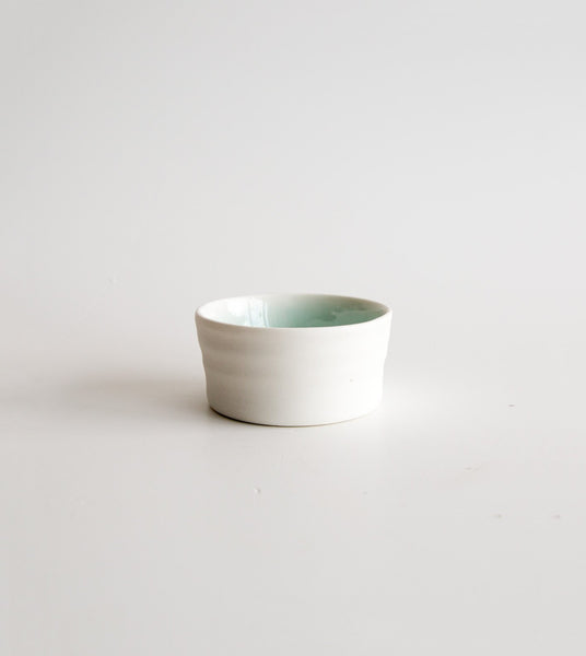 porcelain ramekin, handmade ramekin, small serving dish, buy from the bush