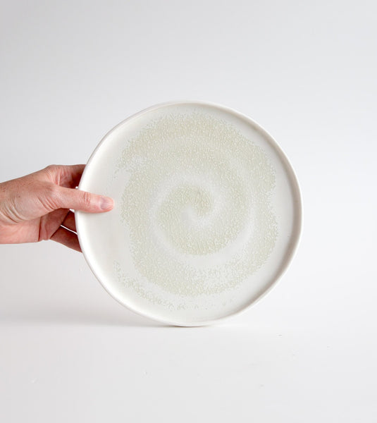 porcelain platter, large porcelain platter, white porcelain platter, buy from the bush