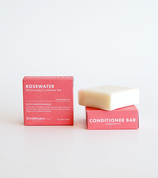 Australian made conditioner bars, conditioner bar, plastic free conditioner