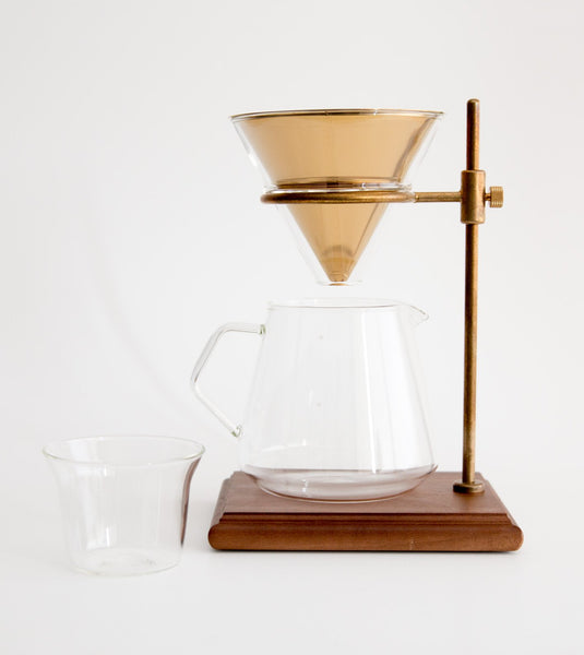 Coffee Dripper Pot & Stand, Kinto coffee pot, slow drip coffee pot, home coffee