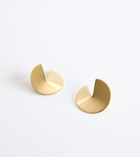 sia stud earrings, unique brass earrings, Soko jewellery australia, unique jewellery australia