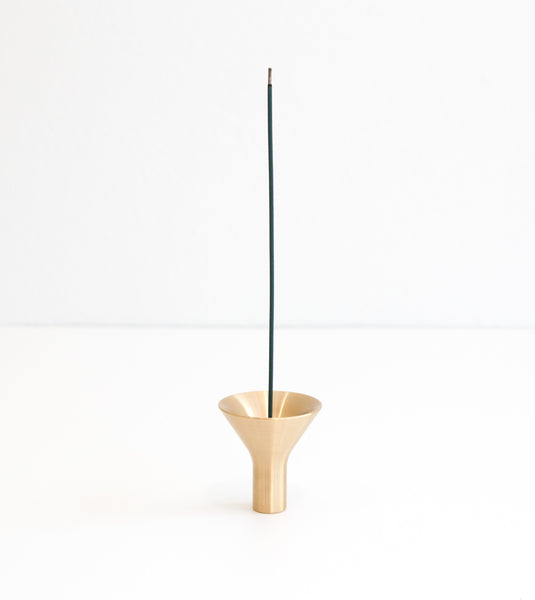 incense burner, designer incense holder, incense holder Australia, brass incense holder