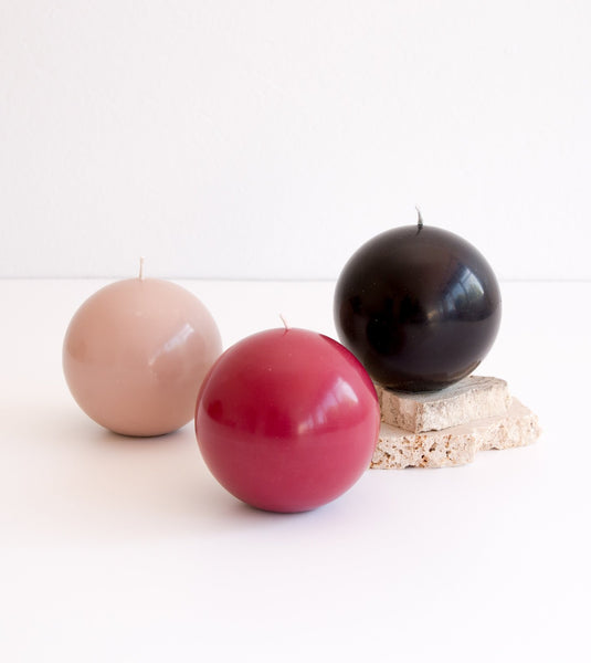 sphere candle, styling candles, round candle, sphere styling candles, Fazeek Sphere candle