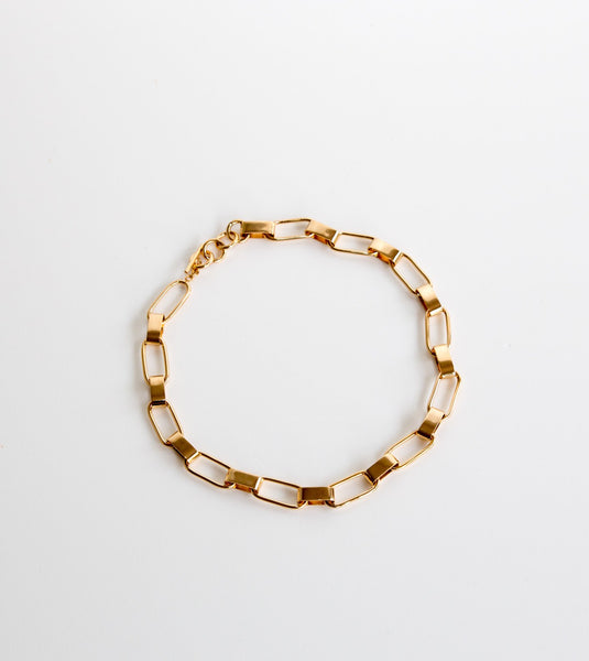 link necklace, link necklace gold, link necklace australia, soko australia, ethical jewellery