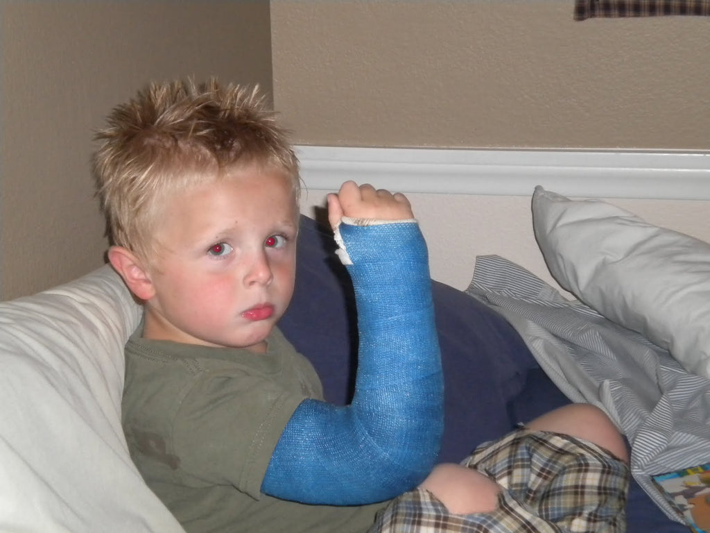 Broken arm = Visit to the doctor