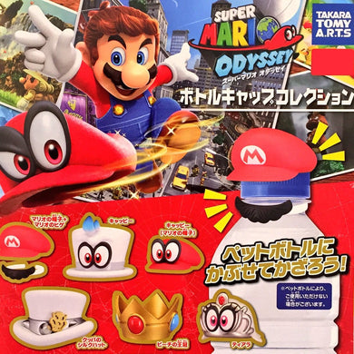 Super Mario Odyssey Bottle Cap Collection