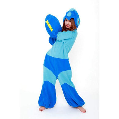 ROCKMAN dress cosplay pajama