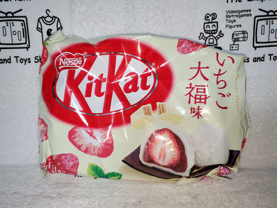 strawberry daifuku  flavor  kitkat  kit kat japanese snacks sweet