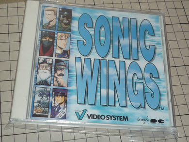 sonic wings  soundtrack original japanese cd
