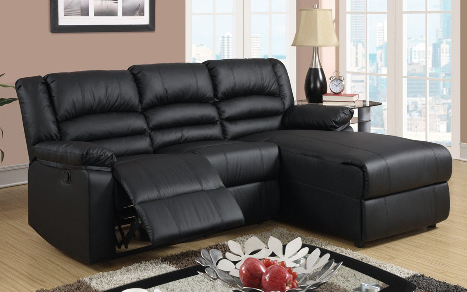 Attrayant Orion Modern Small Recliner With Chaise