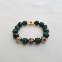 Tibetan Green Tiger's Eye, Bracelets - Embrace SG