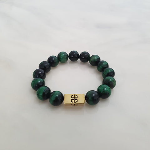 Simply Embrace Green Tiger's Eye, Bracelets - Embrace SG