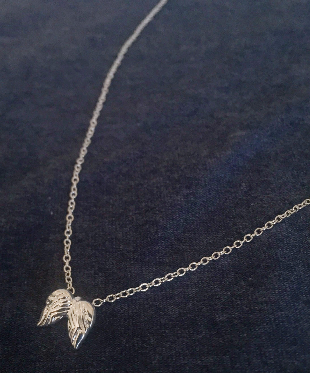 Brave Angel Necklace Silver - gaven med mening