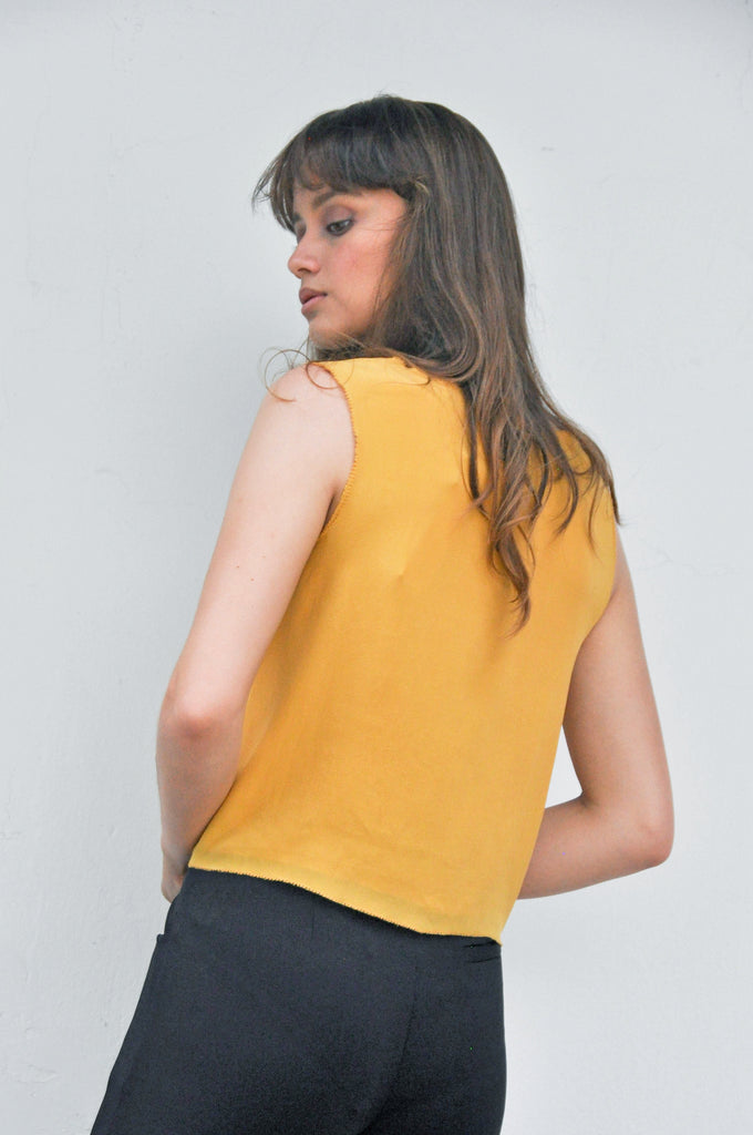 Crepe Silk Top