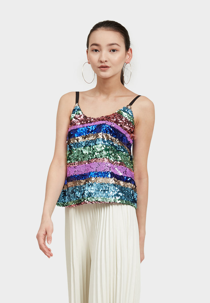 Multi Sequin Cami