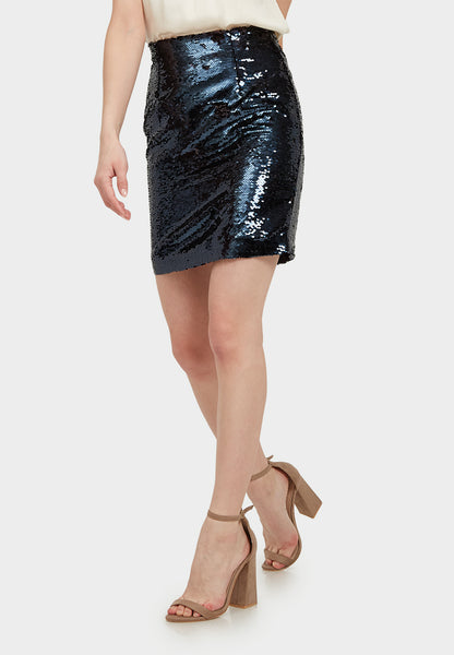 Sequin Mini Skirt