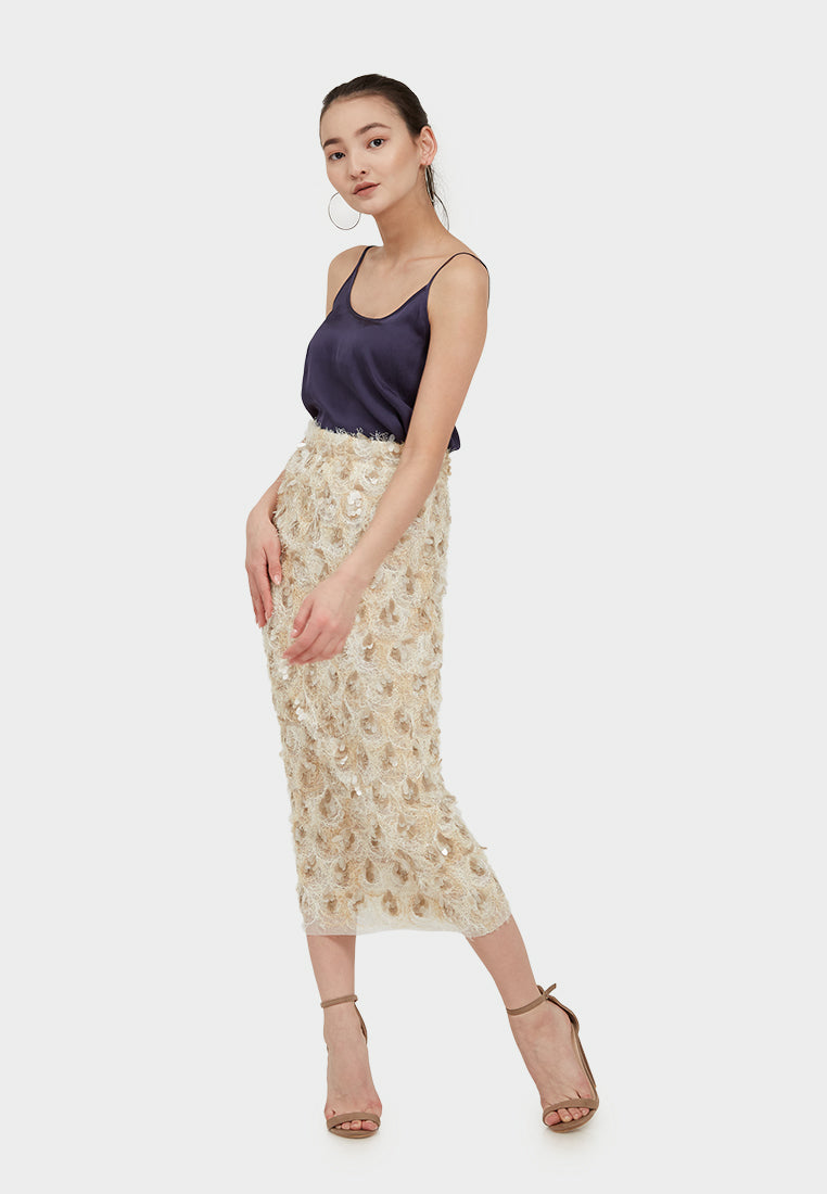 Amy Lace Long Skirt