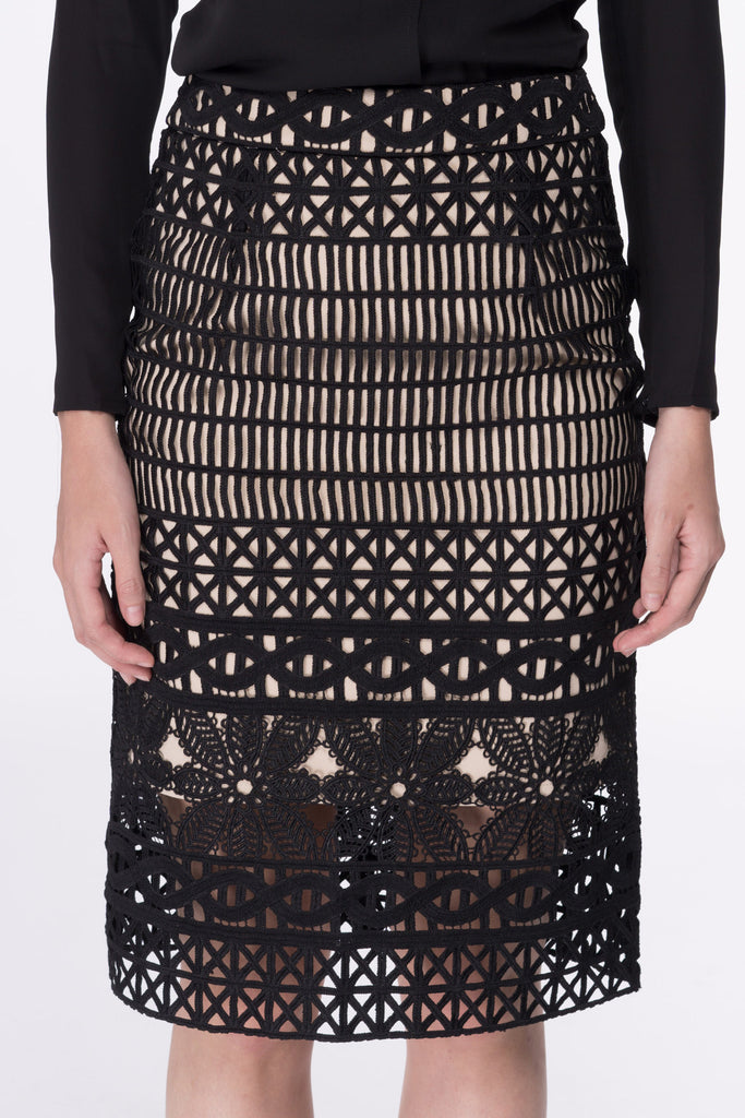 Jo Crochet Lace Skirt